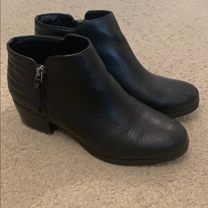 French Connection Black Booties
